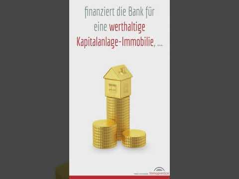 Bis wie viel Euro finanziert die Bank mir Immobilien Investitionen? #shorts