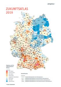 Nutze den Prognos Zukunftsatlas, um die Zukunftschancen von verschiedenen Städten und Gemeinden in Deutschland zu ermitteln.
