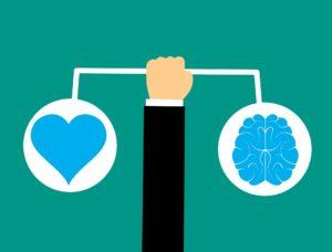 Emotionale Käufe sind oft schlechte Käufe. Lasse dich bei der Investition nicht von deinen Gefühlen leiten.
