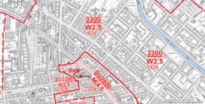 Beispiel Bodenrichtwerte der Stadt Berlin für die Sonnenallee 70 aus dem Jahr 2019