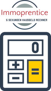 Logo Immoprentice Online 5 Sekunden Hausgeld Rechner