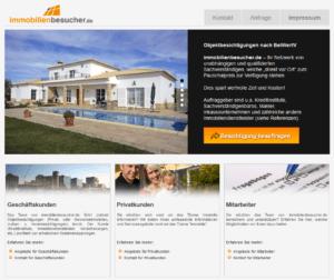 Screenshot der Seite von immobilienbesucher.de. Auch eine Wohnungsbesichtigung kannst du gegen eine Gebühr online erledigen lassen.