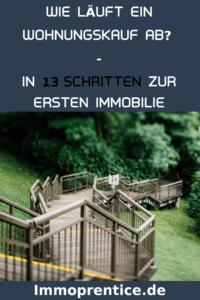 Wie läuft ein Wohnungskauf in Deutschland ab? Lerne in diesem Artikel die 13 Schritte mit denen du von Null zum Immobilien Investor wirst!