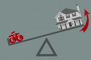 Was ist der Leverage-Effekt bei Immobilien?