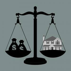 Bei kreditfinanzierten Immobilien ist es wichtig, dass du ein Auge auf deinen Verschuldungsgrad hast!